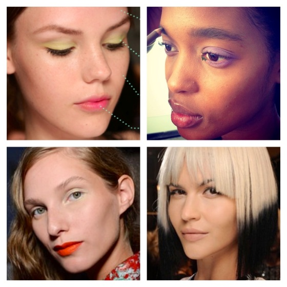 Spring 2014 Beauty Looks from NY Fashion Week