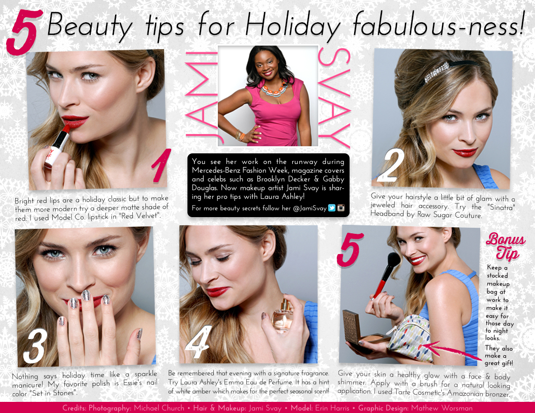 Beauty Tips for Holiday Fabulous-ness!