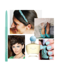 something blue blog collage